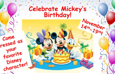 Join Us to Celebrate Mickey's Birthday!