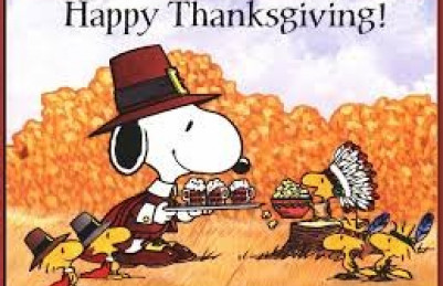 Thanksgiving Holiday!