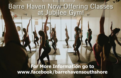 Barre Classes at Jubilee!