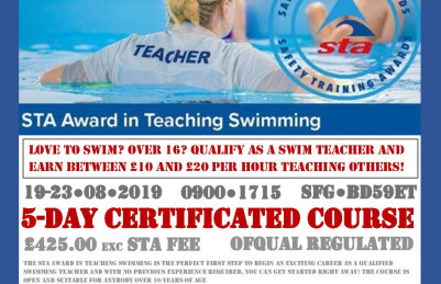 Qualify as a Swim Teacher with U-Train!