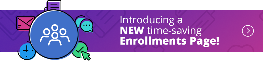 New Enrollments Page